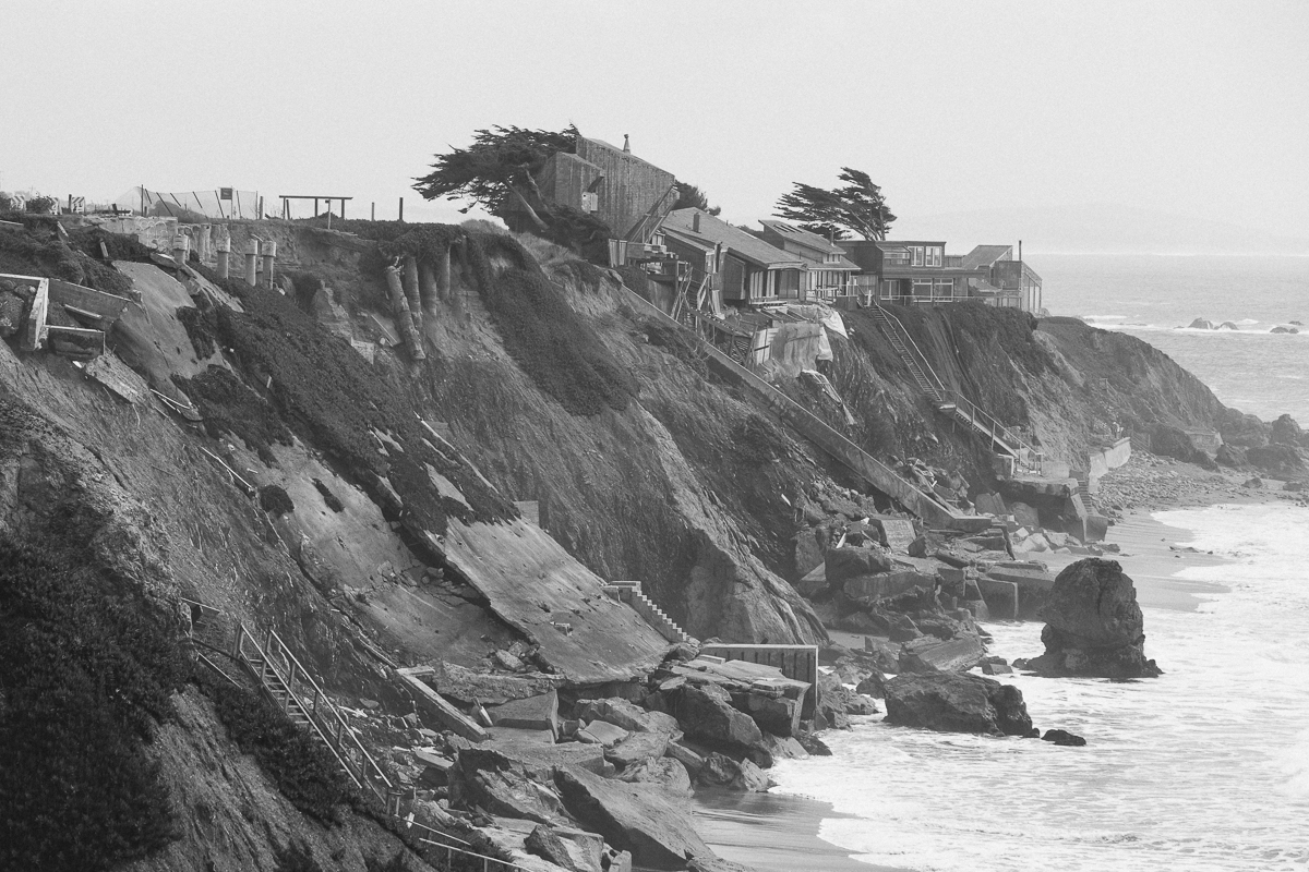 2 homes have already been claimed by the sea.