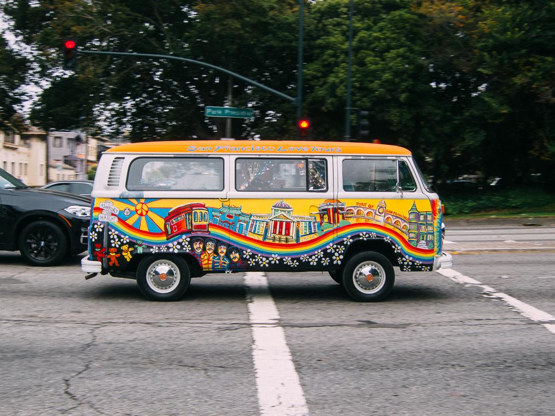 Love Tour bus.