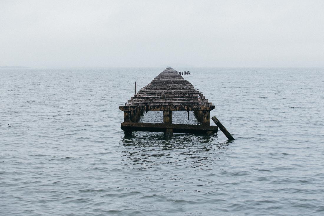 The Old Berkeley Pier, fading away...