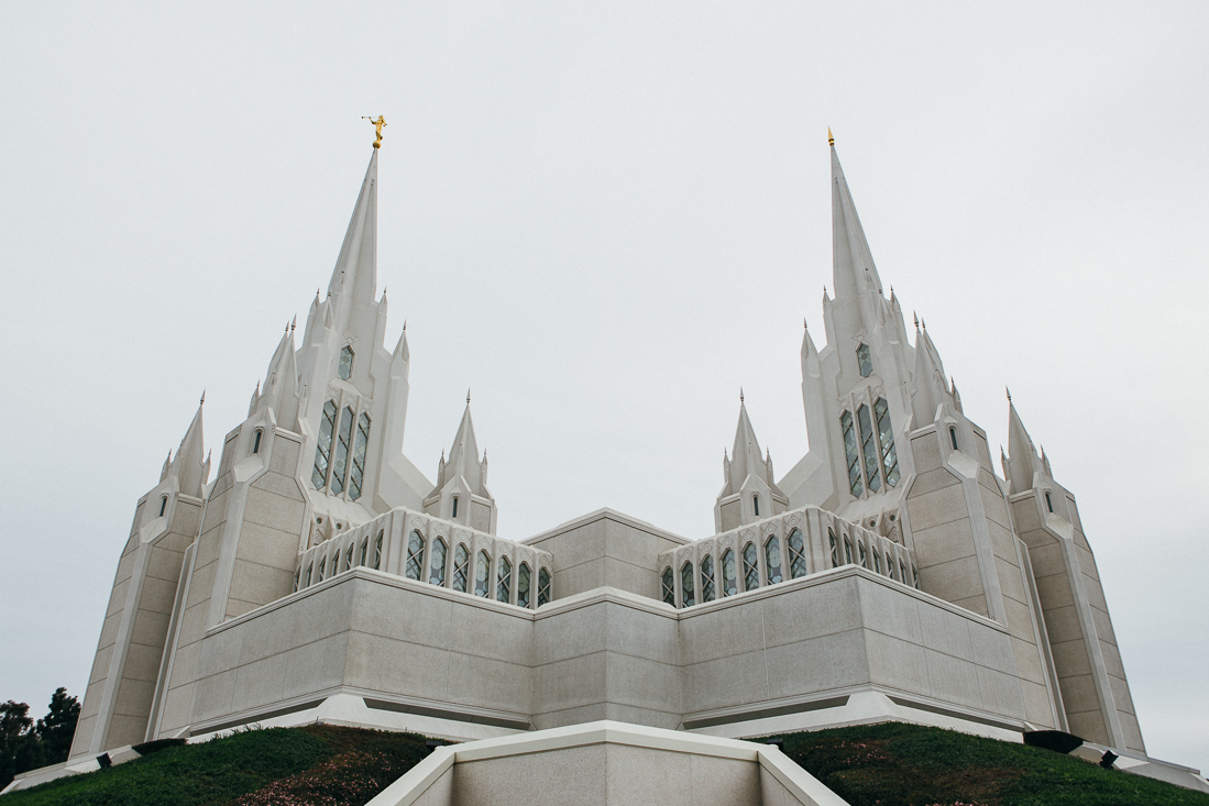 The Mormon church near San Diego has some crazyimpressive design. It's like Disneyland almost, but real.