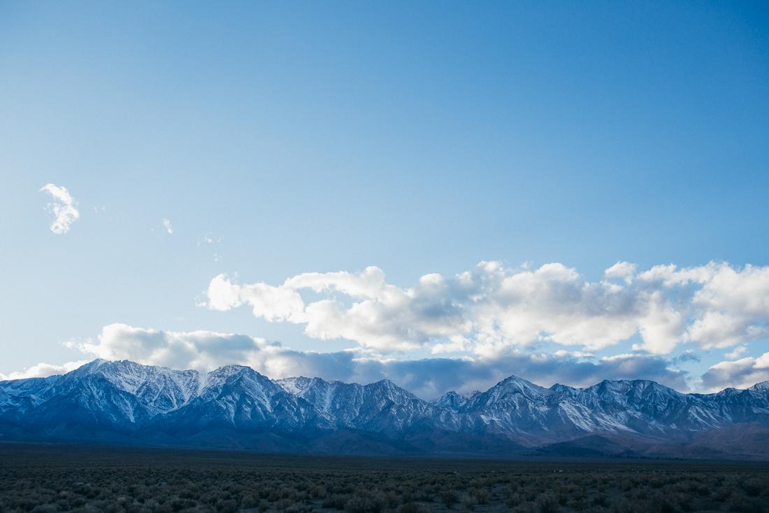 Those majestic Sierra Nevada mountains.