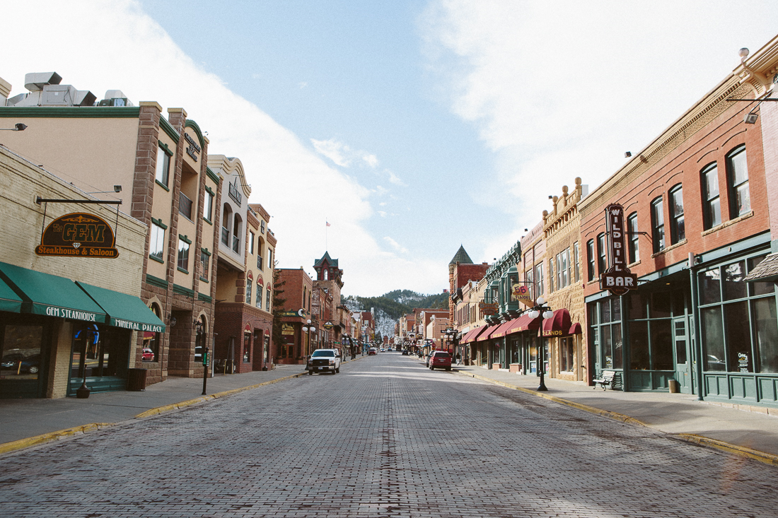 Have you watched the western show on HBO,    Deadwood   ? I've been watching the seriesnot knowing it was an actual town. It's real,complete with the Gem and theWild Bill Bar! Yeehaw!