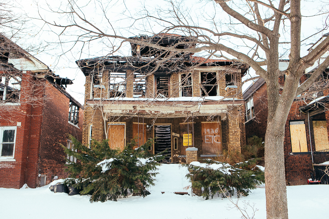 There are dozens, if not hundreds of burned homes like this.