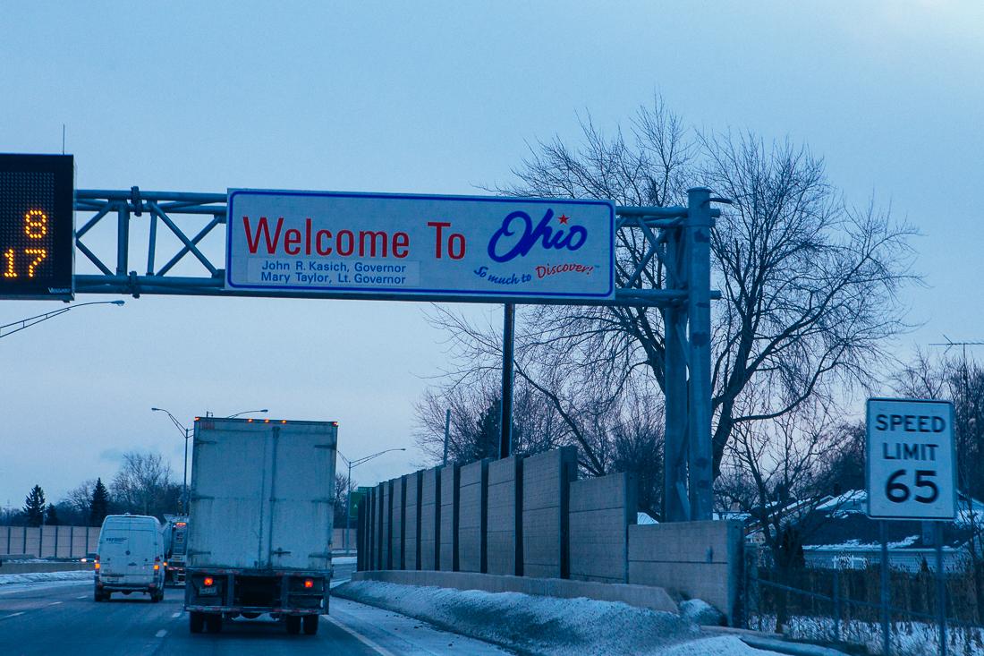 Day 83 / Mile 10,105. Ohio!