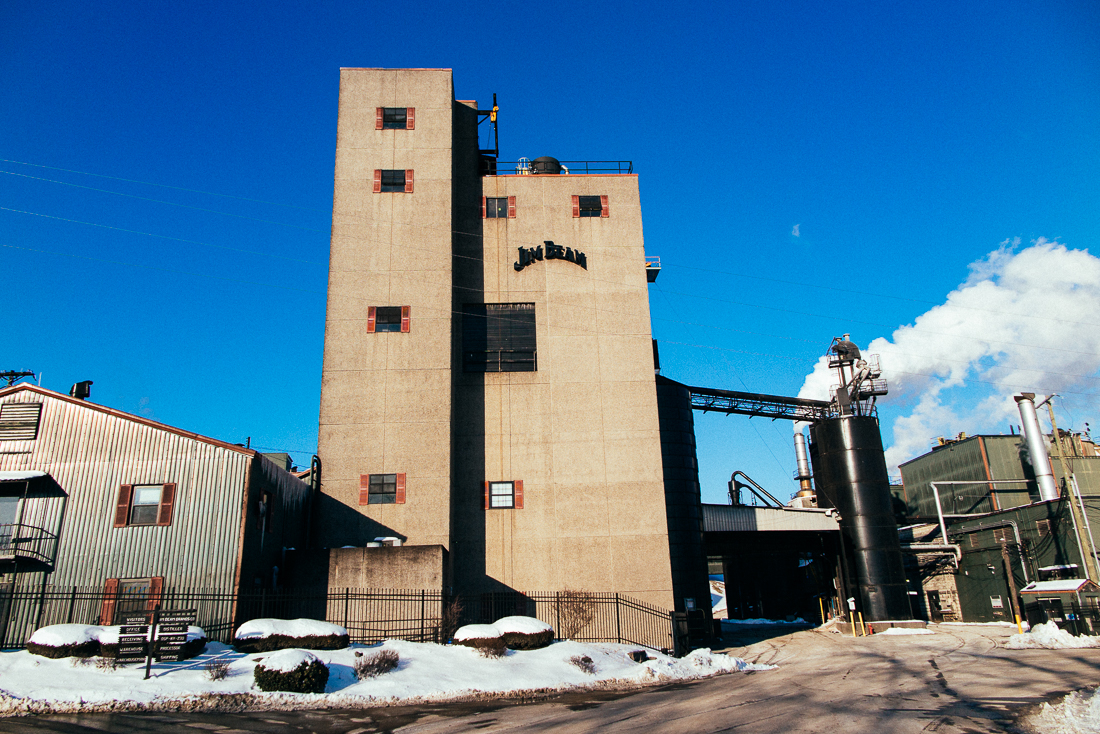 The mega distillery of Jim Beam, but houses small batch brands like Knob Creek that I was there for.