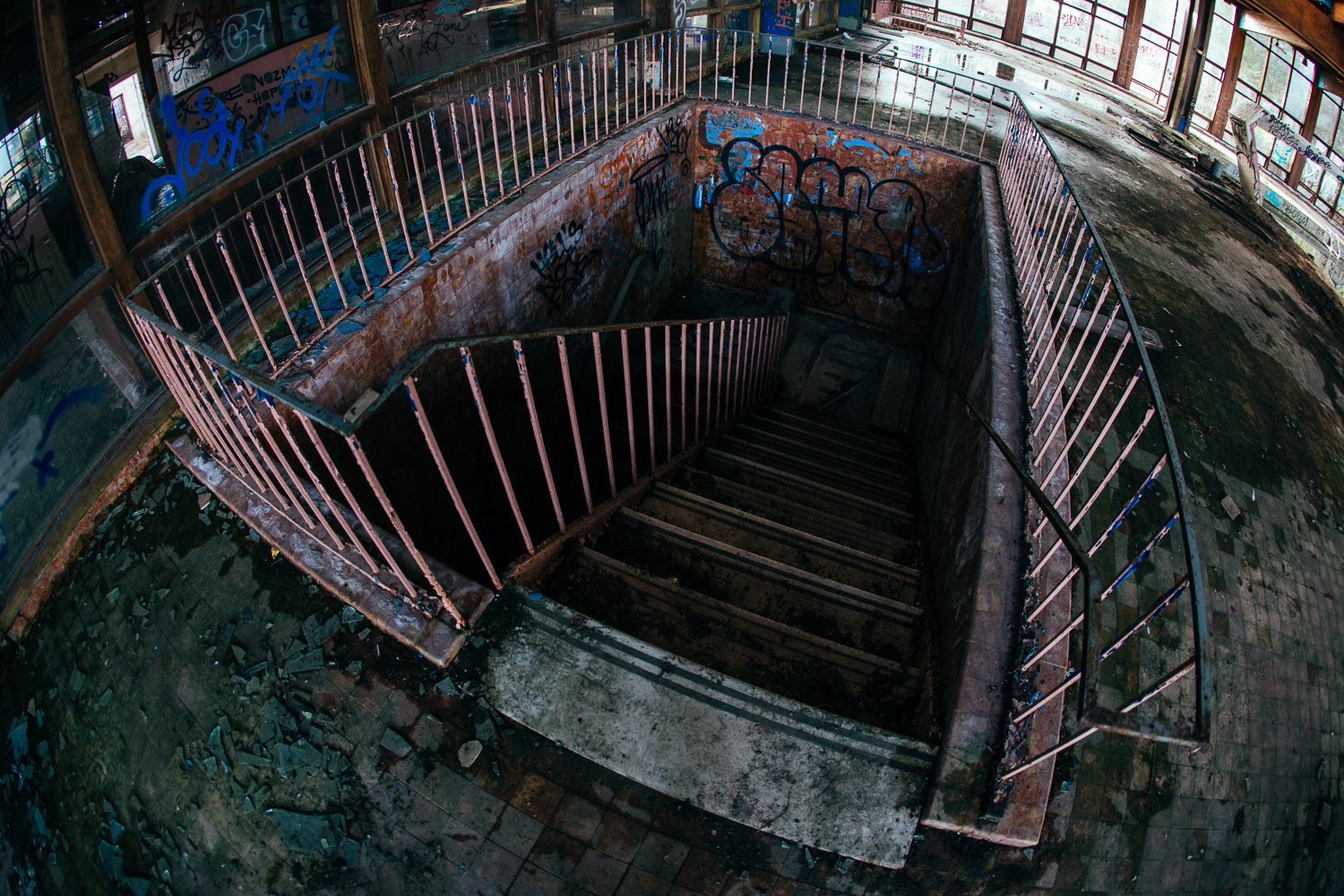 Do you dare go down there??