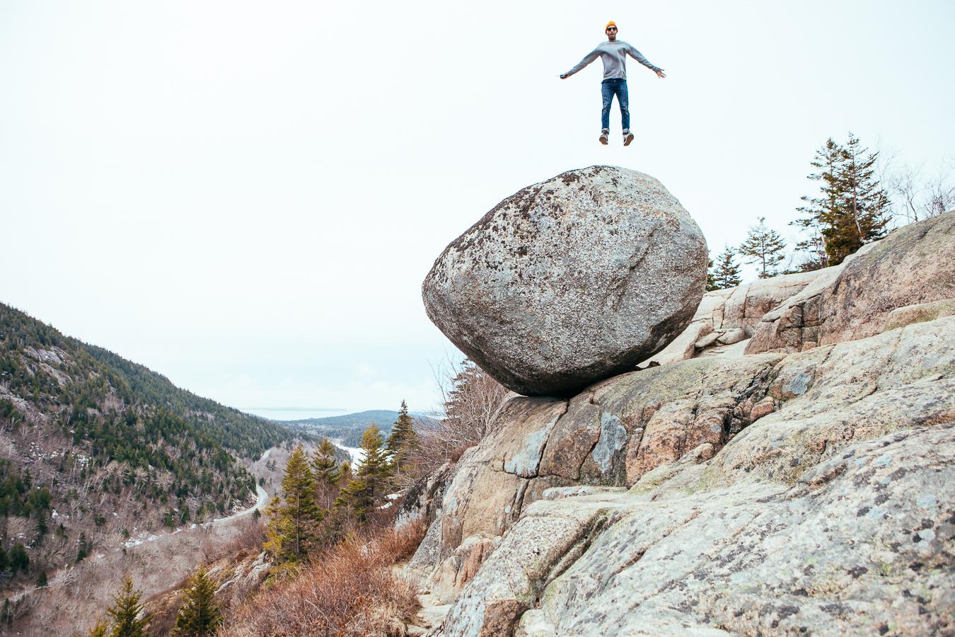 Bubble Rock Christ Air!