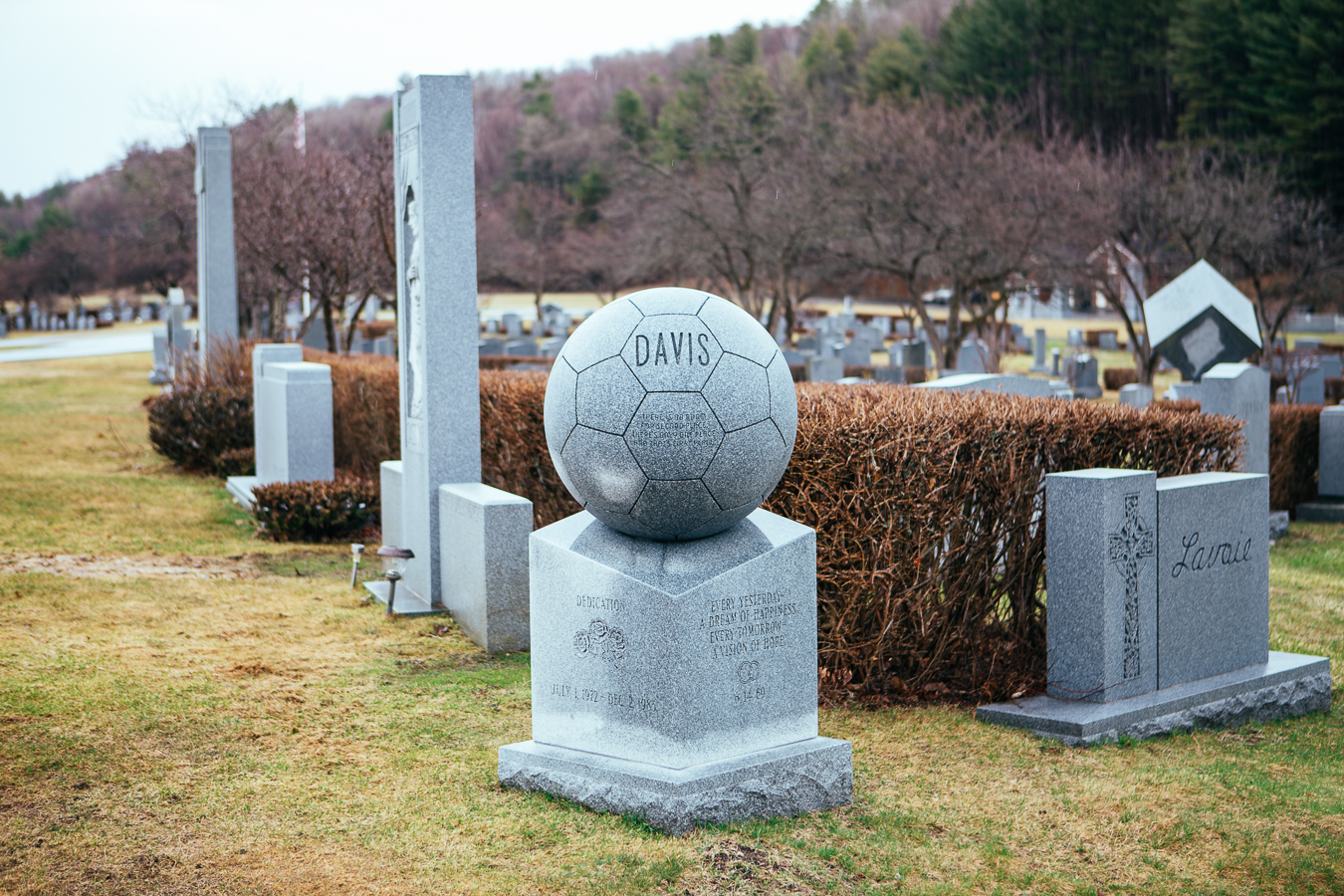 Davis loved nothing more than soccer.