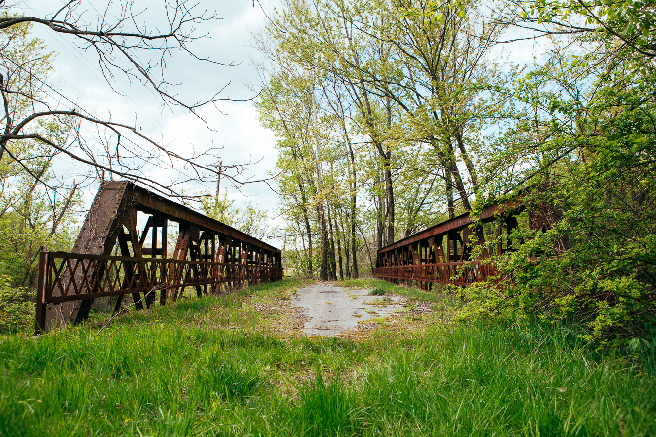 Found the bridge to nowhere.