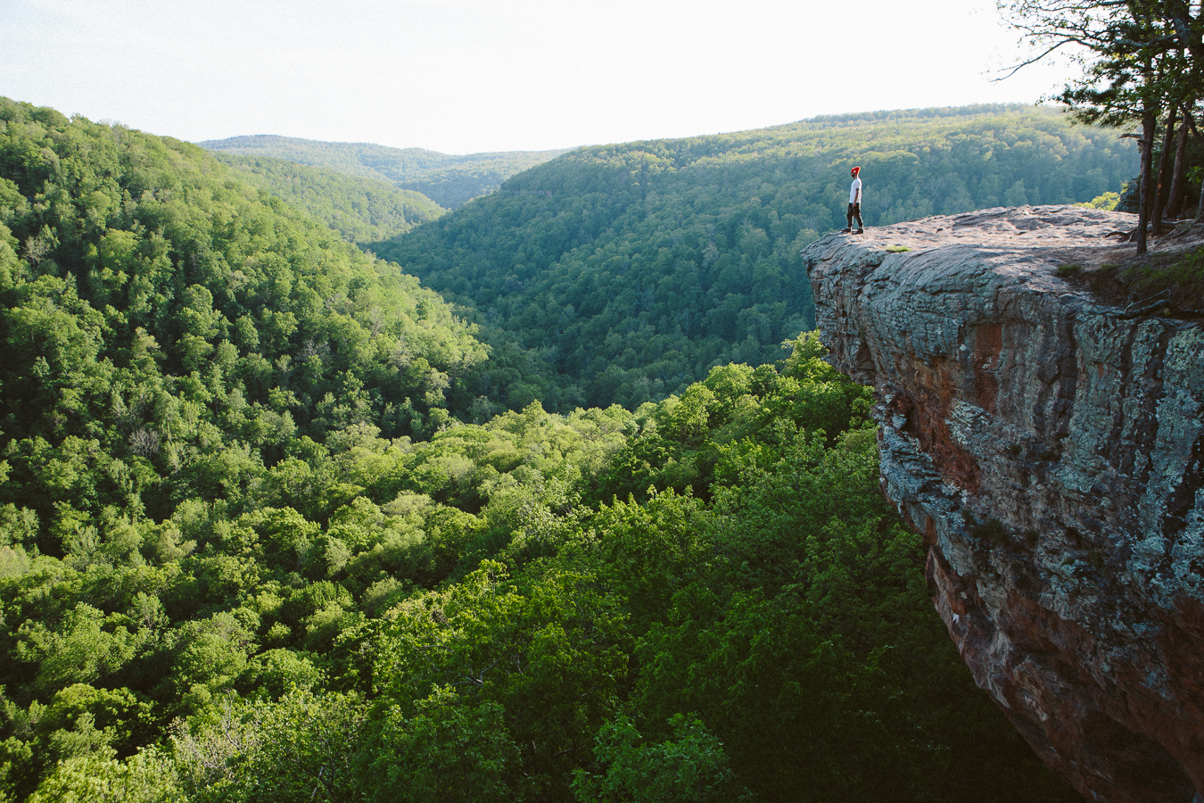 Hiking out to HawksbillCrag was great, perfect weather and this amazing view.