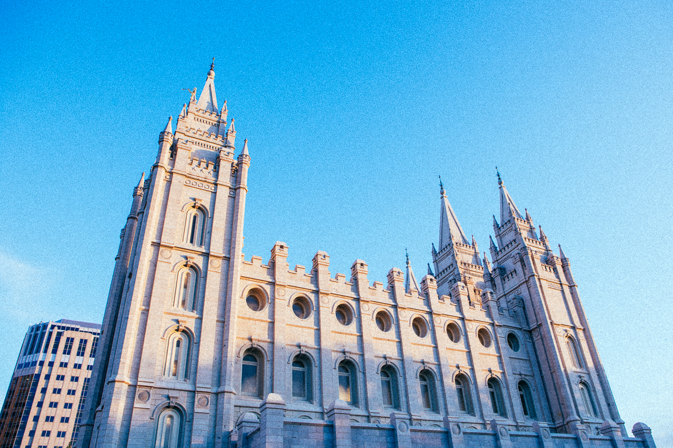 When many people think of SLC they typically relate it to the large Mormon community there.