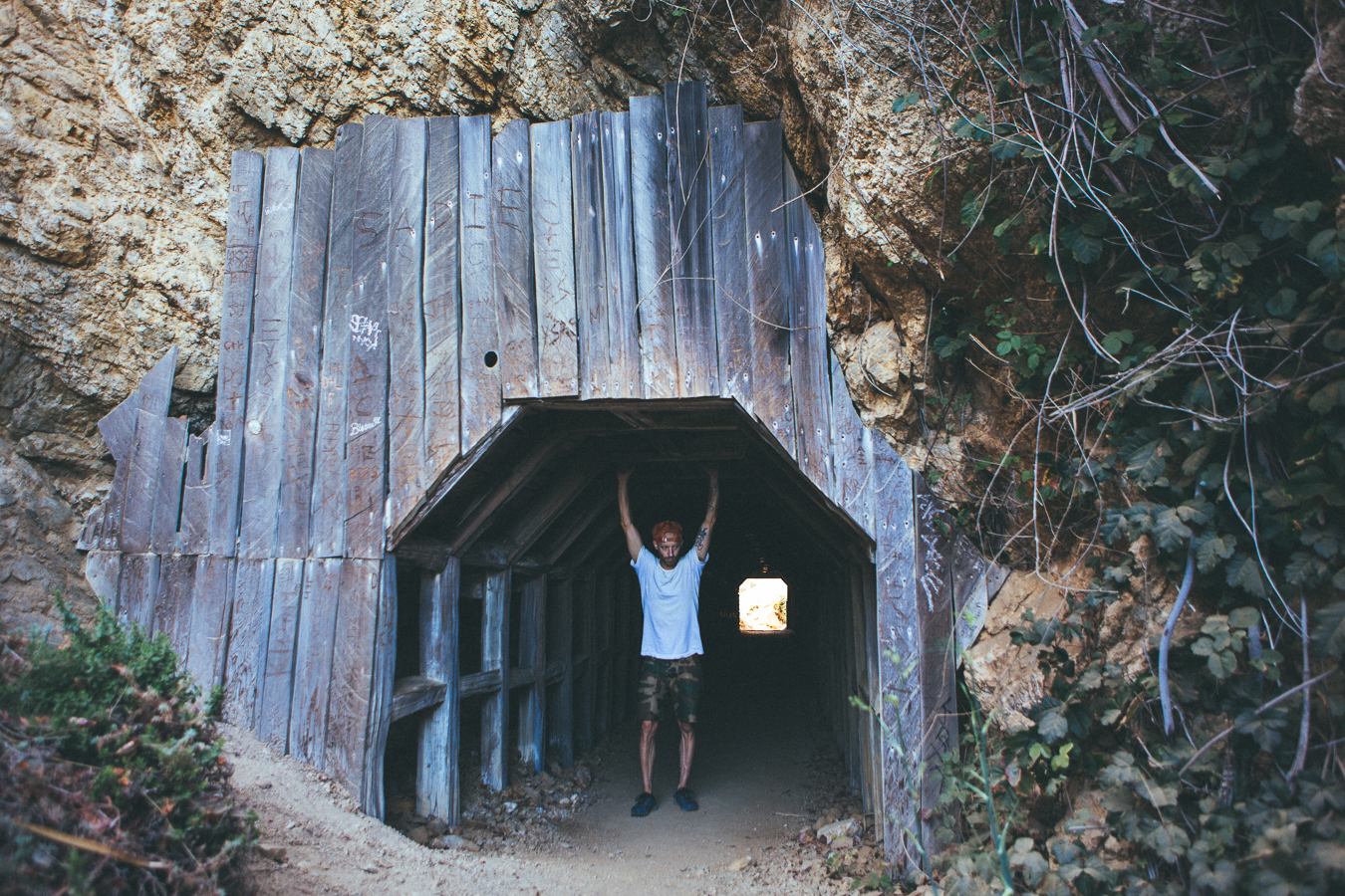 I found the mine to a secret cove.