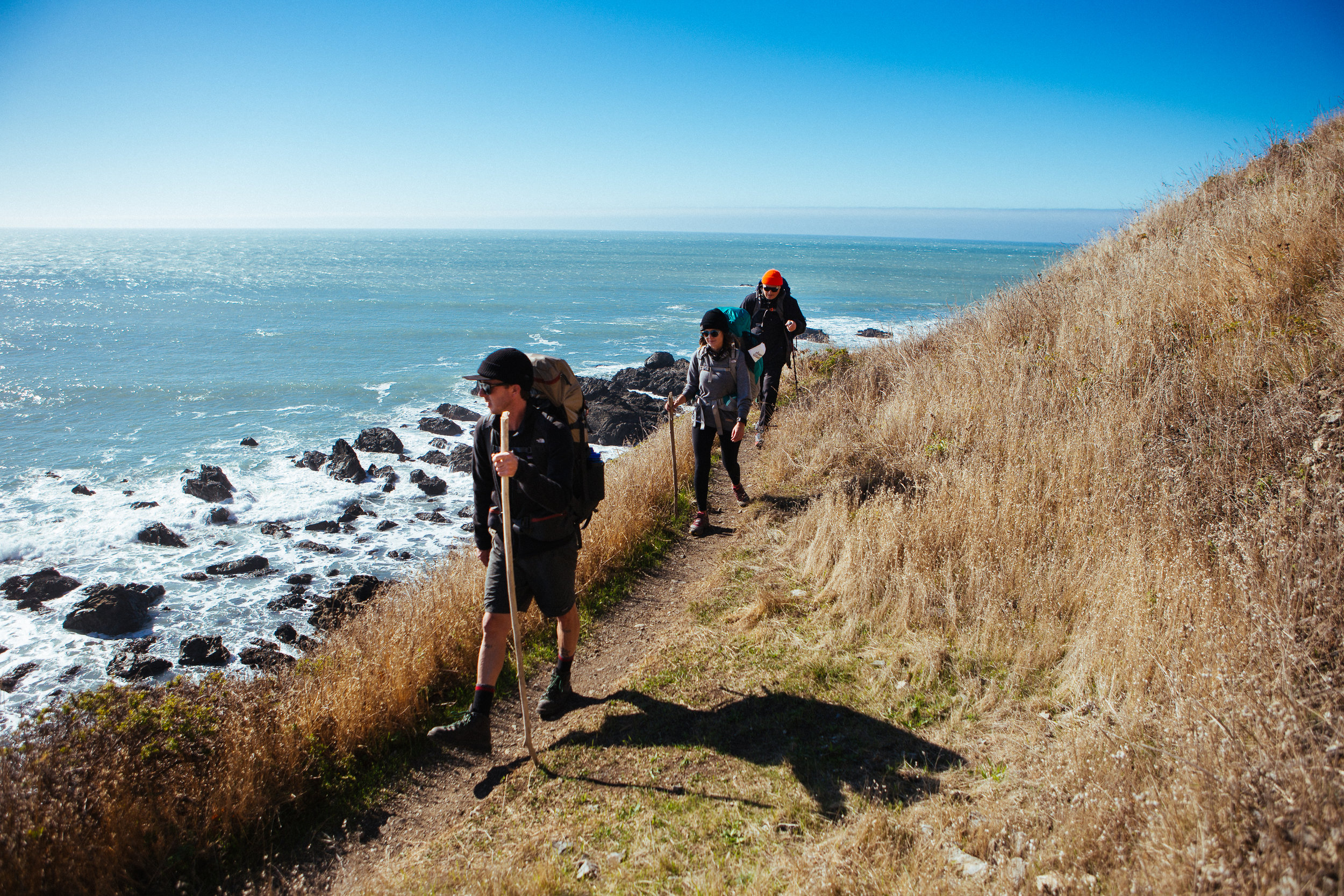 The trail in the beginning is nice and casual, starts you off in a great adventurous mood.