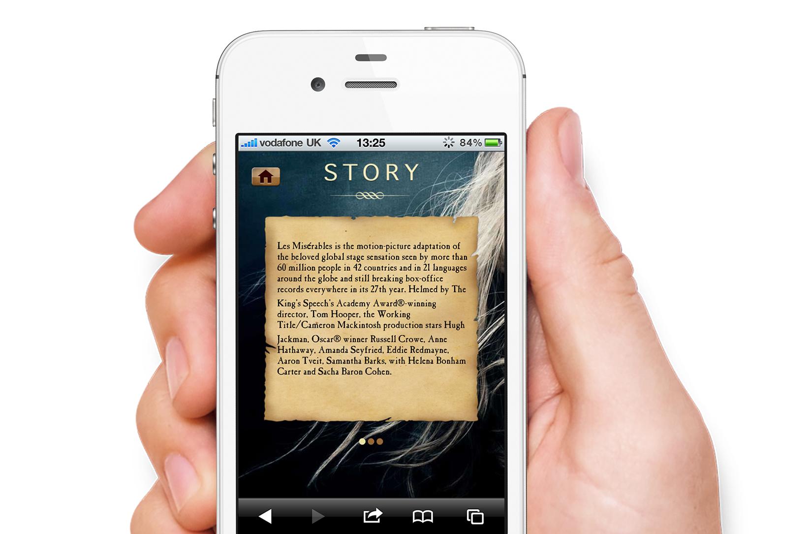 Story screen.