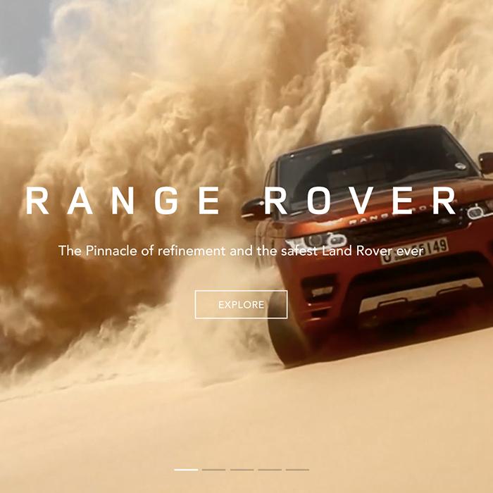 - Land Rover website