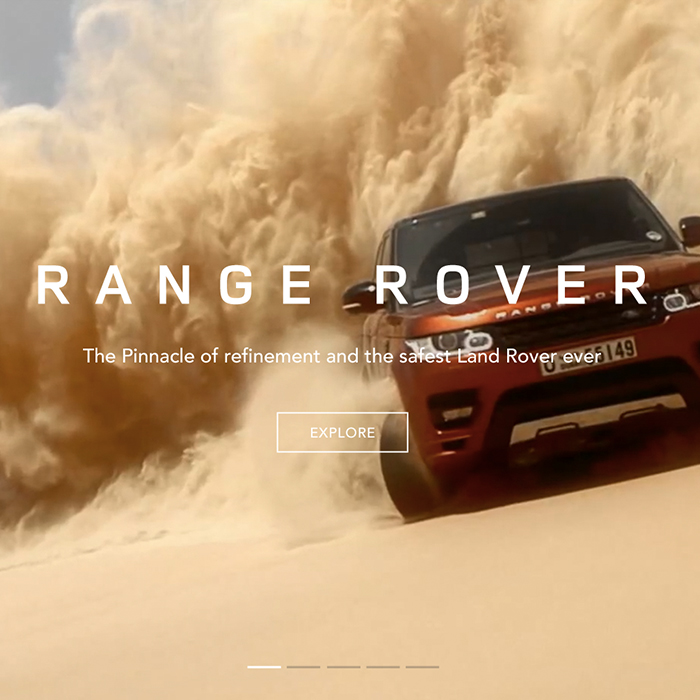 - Land Rover website