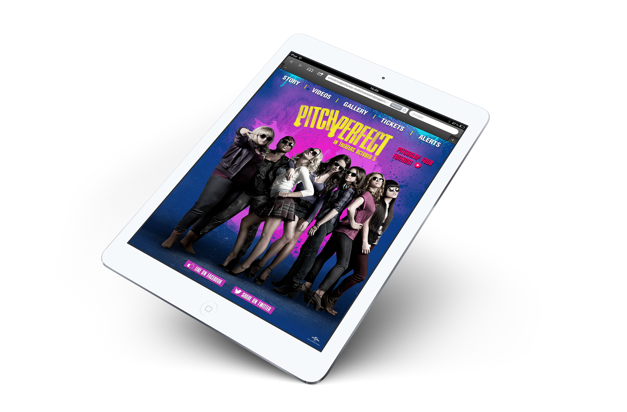 iPad: homescreen.