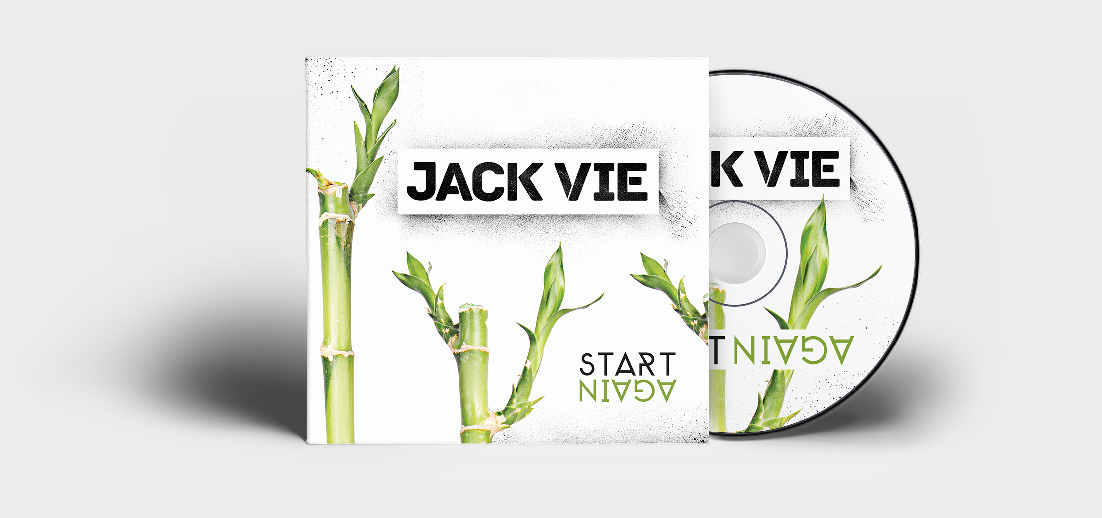 Album cover for Australian hip hop artist Jack Vie. Designed in Perth, 2013.
