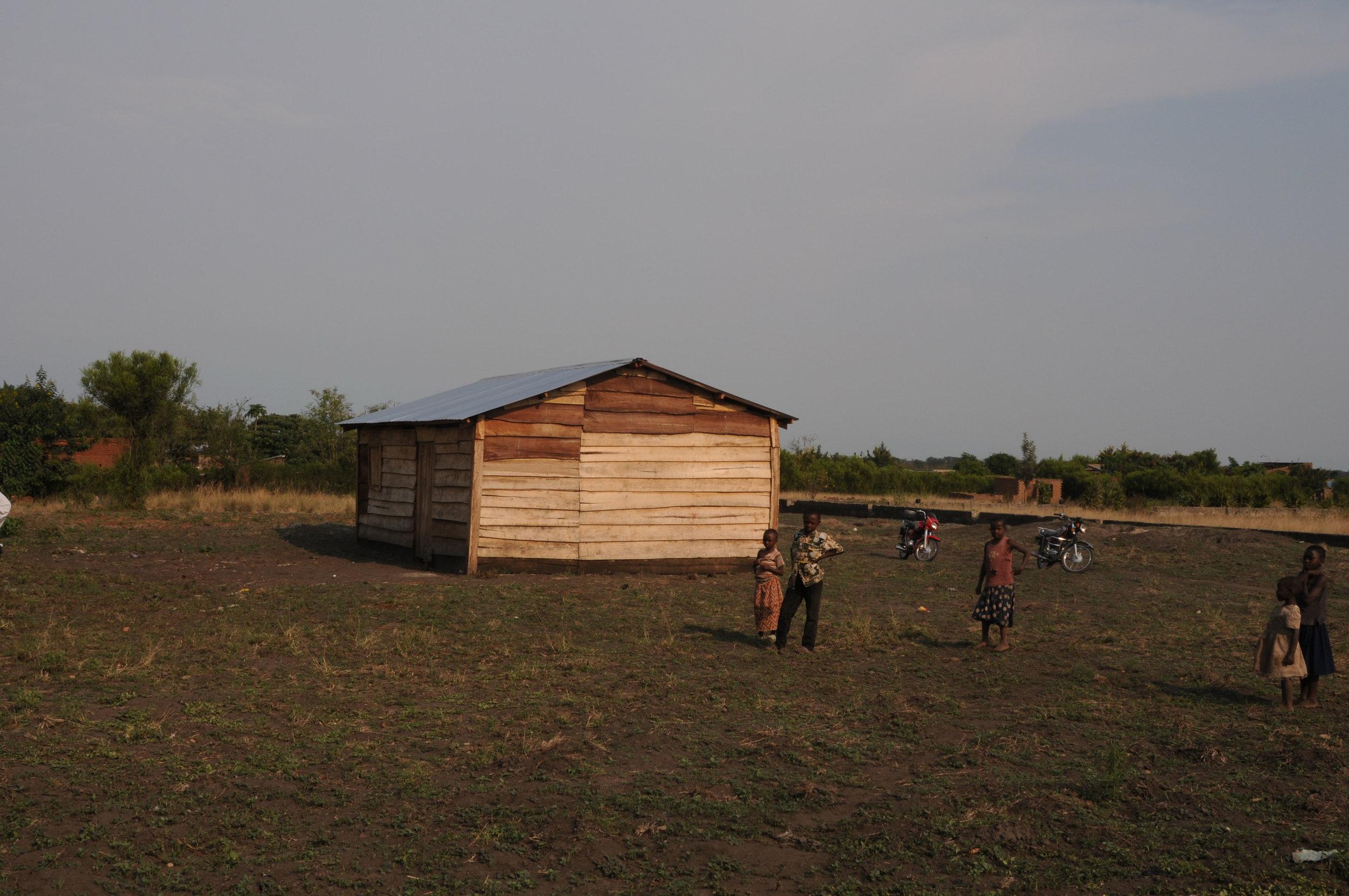 Before we built the Children's Village