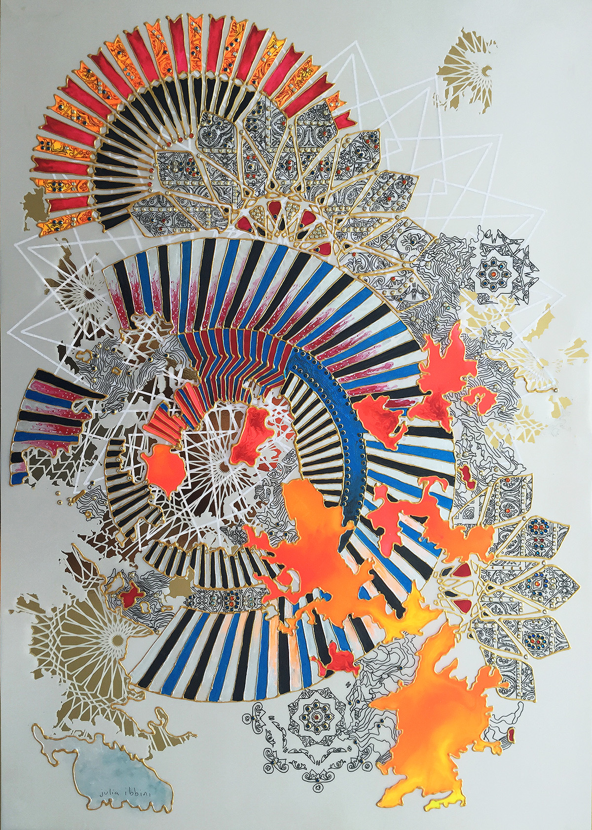 Untitled Study (Khanebani) No. 2