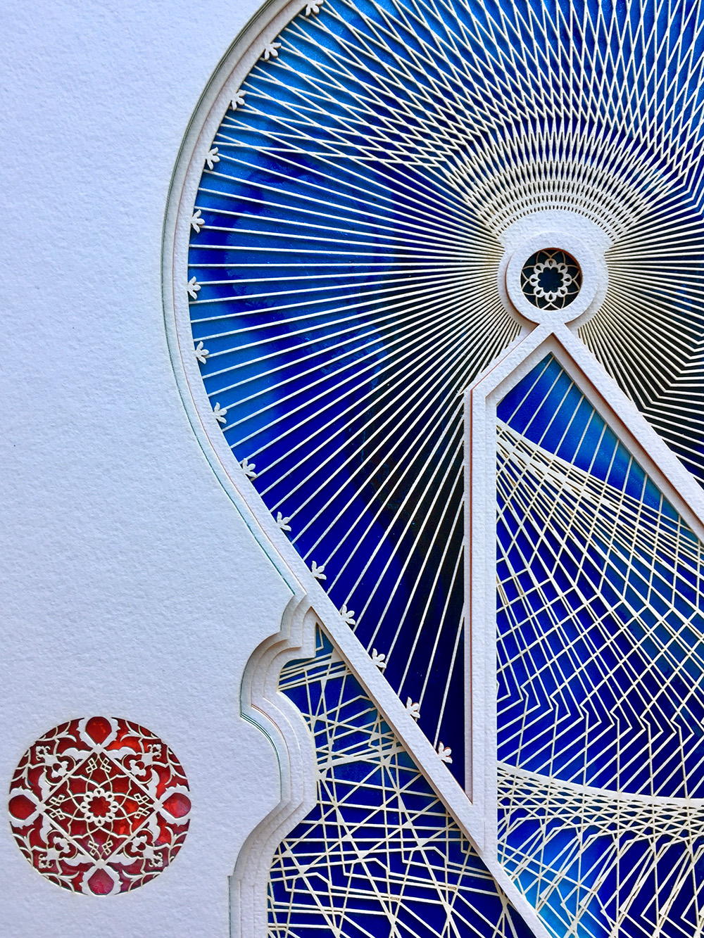 Detail from through the doorway to lapis lazuli