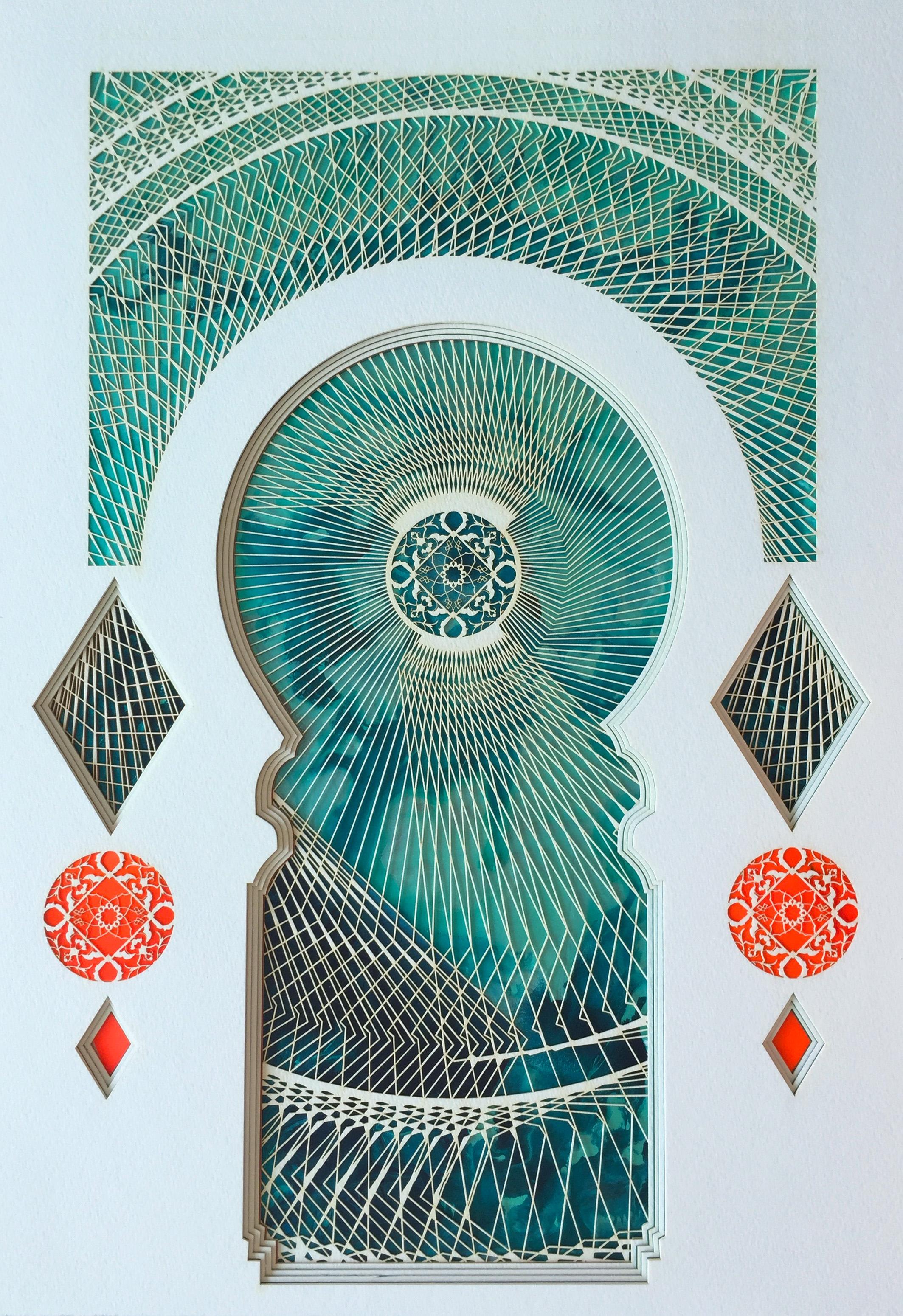 Untitled Study (through the doorway to jadeite)