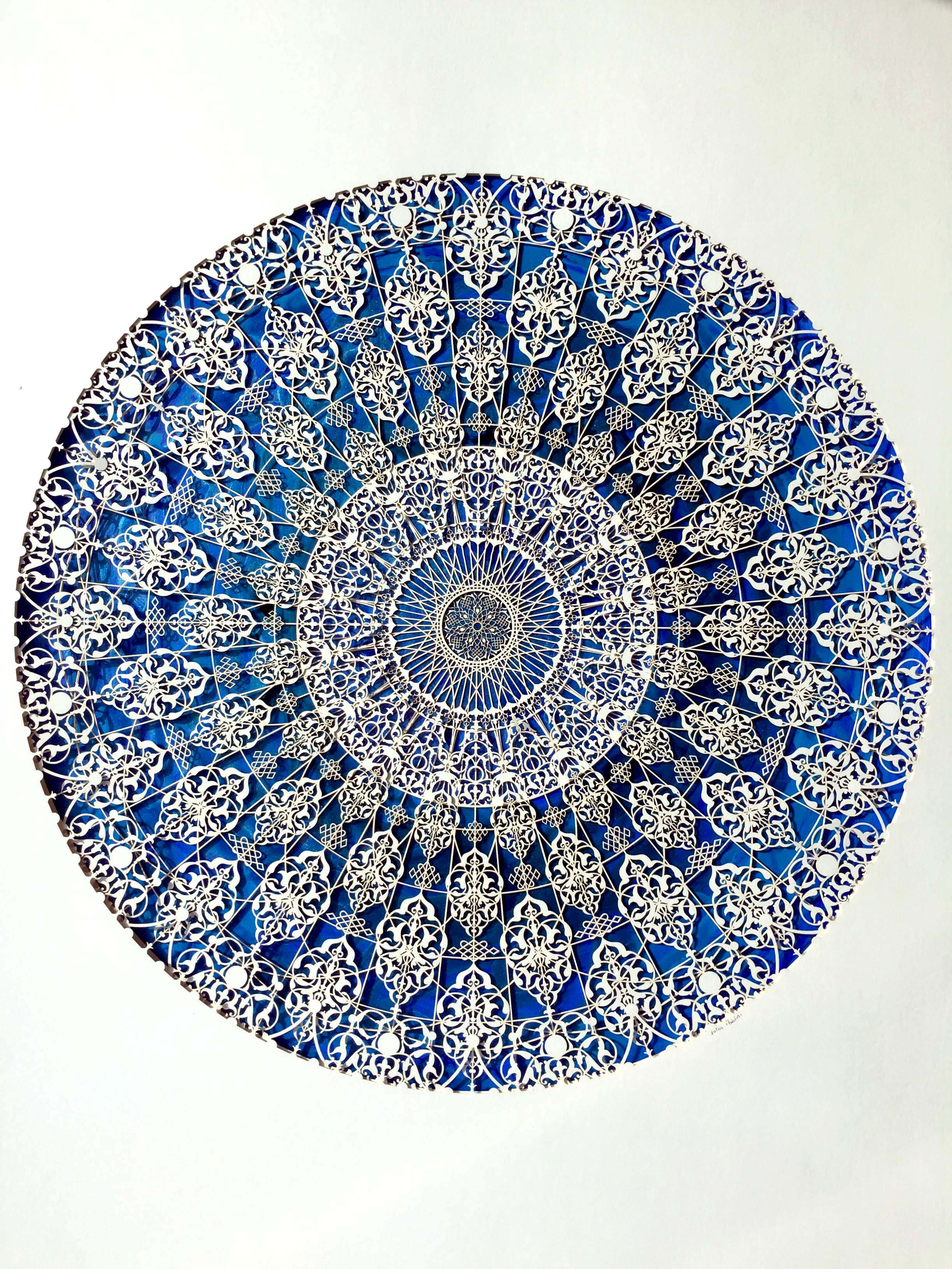 Julia Ibbini - Untitled Study (The Compass) 45cm x 60cm.jpg