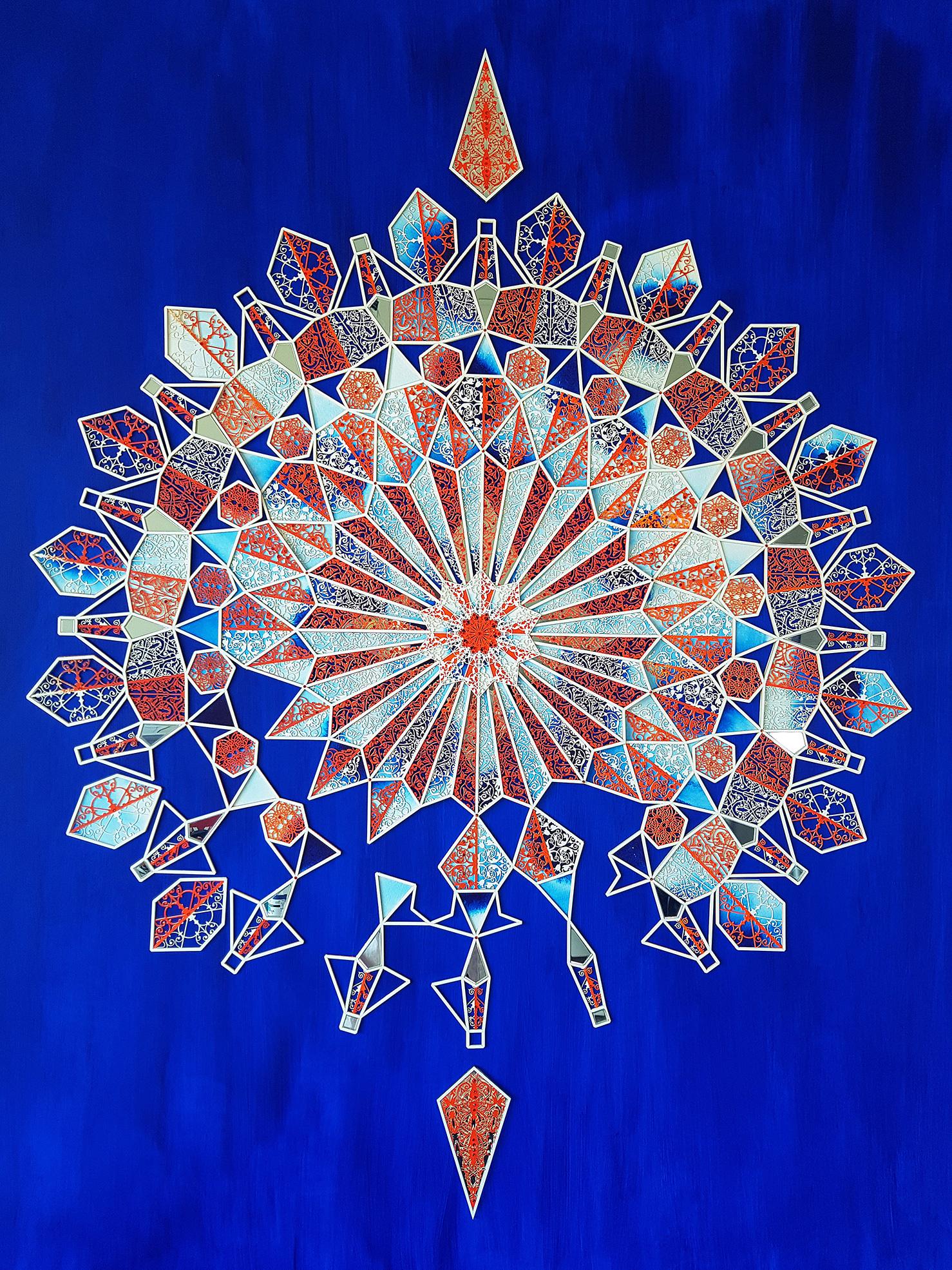 The Compass No.3 - Julia Ibbini - 100cm x 124cm - $8000.jpg