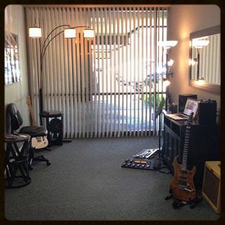 The teaching studio!
