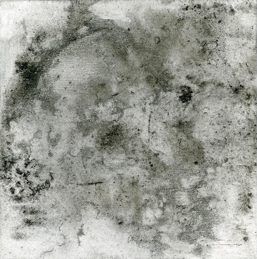 Moon Mixed Media Transfer and Pencil on handmade paper 2018.jpg