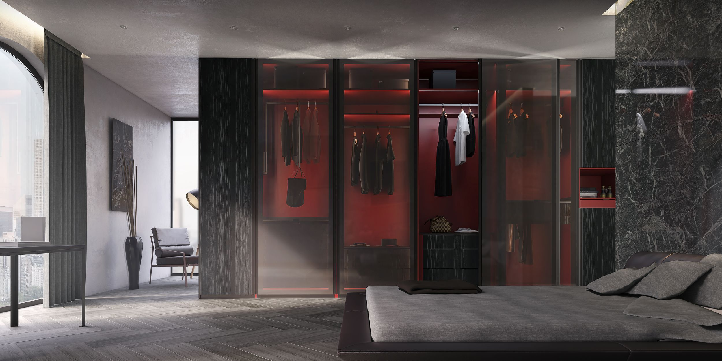 Bedroom Interior - Metroscapes