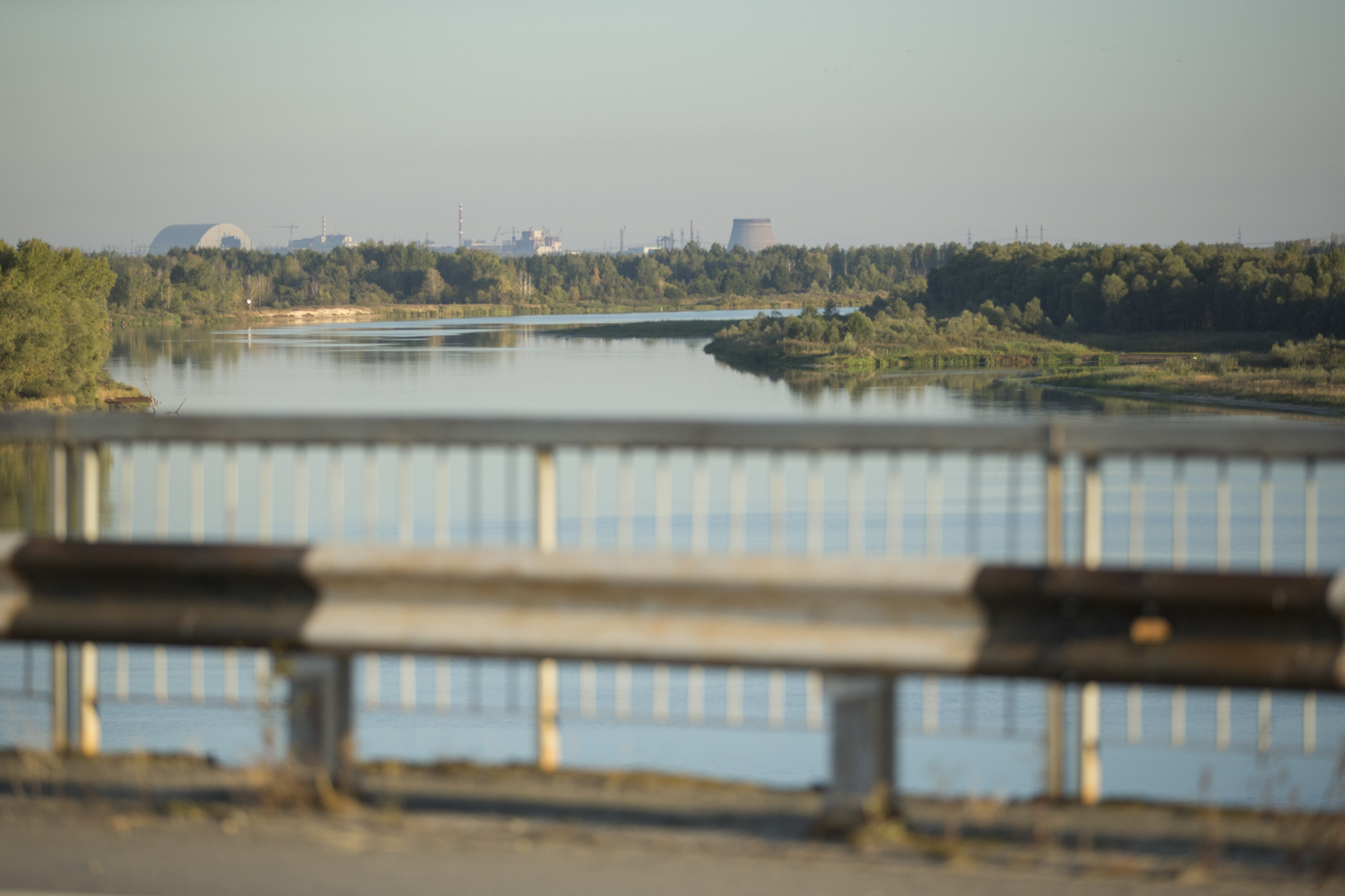 Chernobyl's exclusion zone spans 2600 square kilometres.