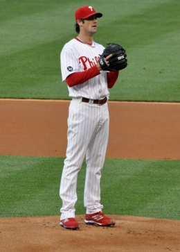 Cole Hamels would look good in Texas red and blue.