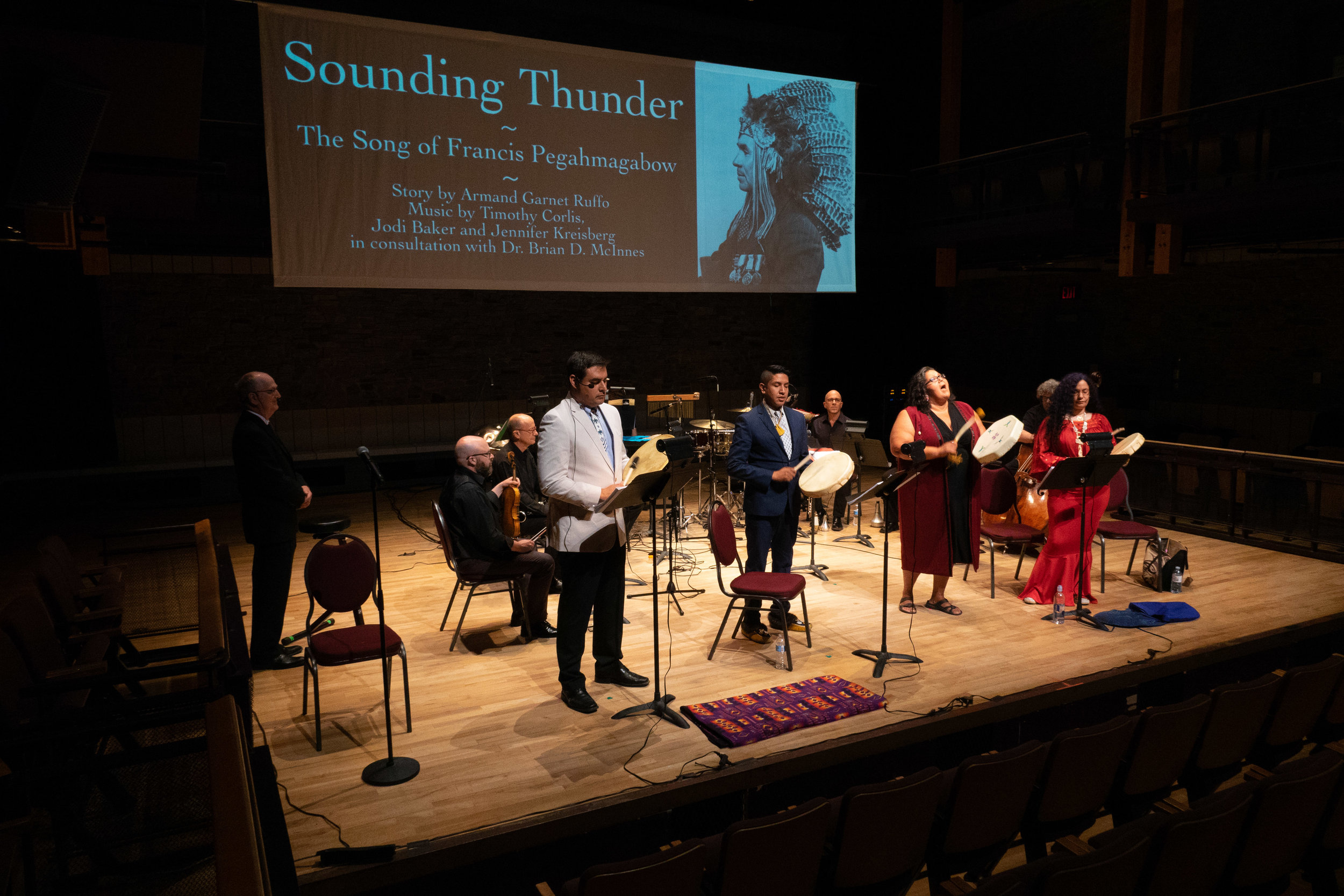 Sounding Thunder The Song Of Francis Pegahmagabow