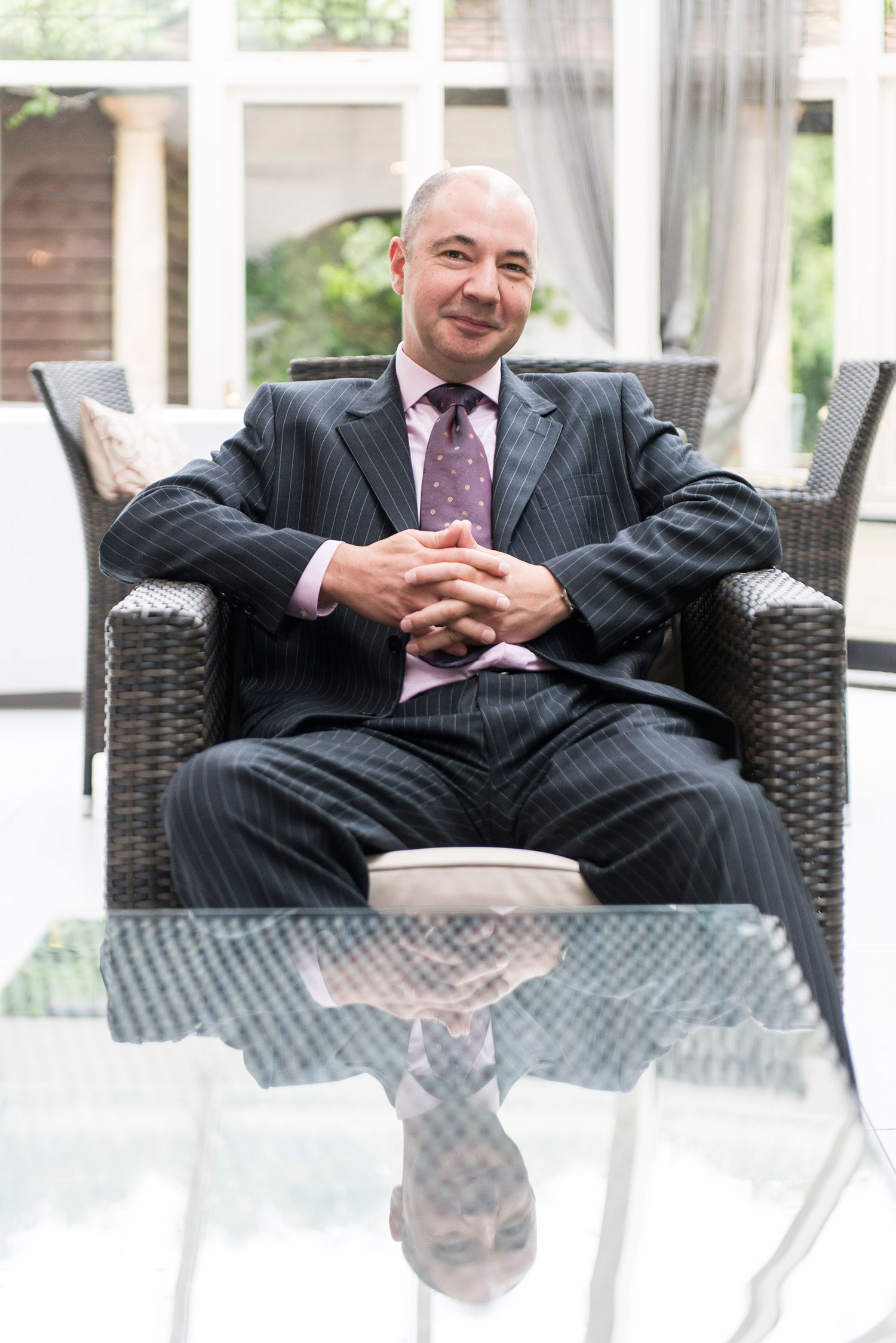 Sussex Hotel Manager Portrait