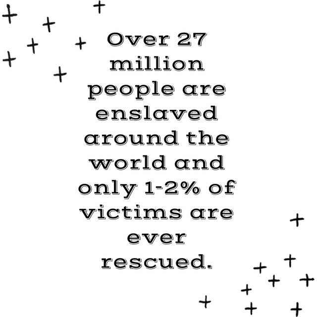 """Today is Human Trafficking Awareness Day and the statistics aren't pretty. But the good news is that we can change the statistics! """"The Lord works righteousness and justice for all the oppressed."""" (Ps. 103:6) #HumanTrafficking #thefreedomgatemovement"""