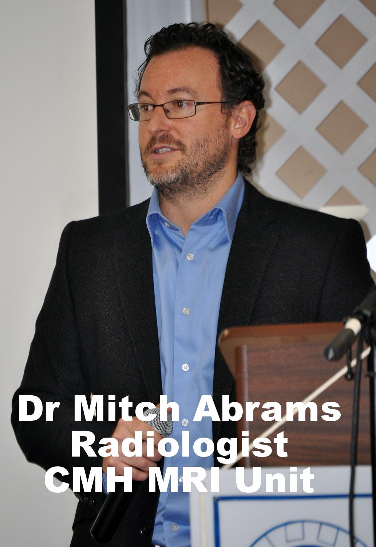 Dr Mitch Abrams Radiologist wCMH's MRI Unit.JPG