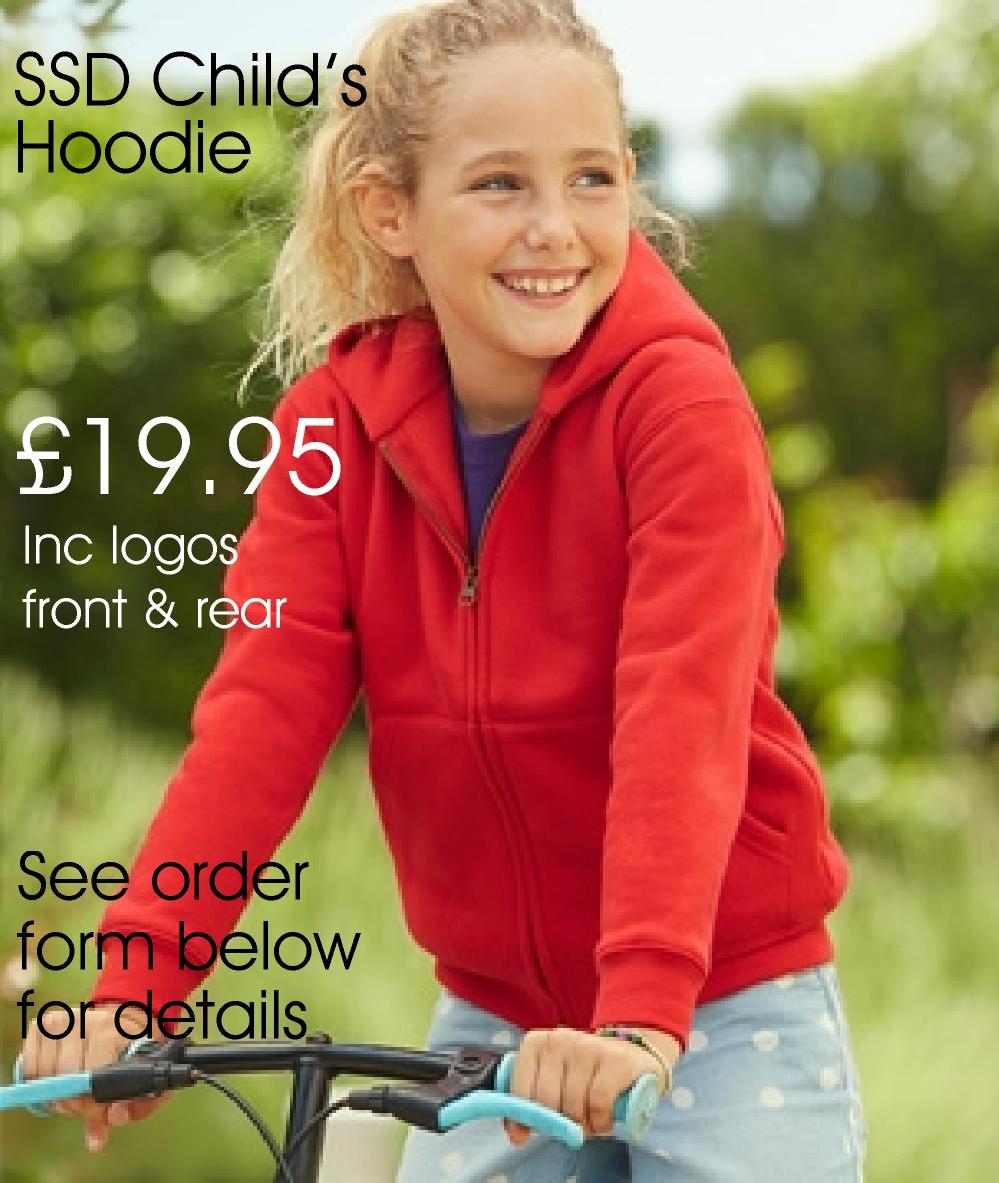 Children's Premium Hooded SSD Sweat Jacket