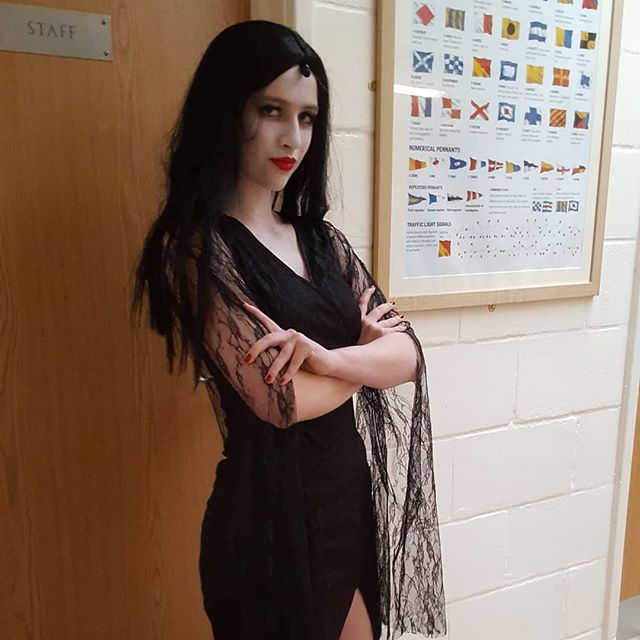 Thanks to all the #saxteadschoolofdance pupils who performed so well in the #hartismerehighschool production of The Adams Family.  Shame I couldn't get all of you for the picture. #katewait_ you were made for the role of Mortitia!