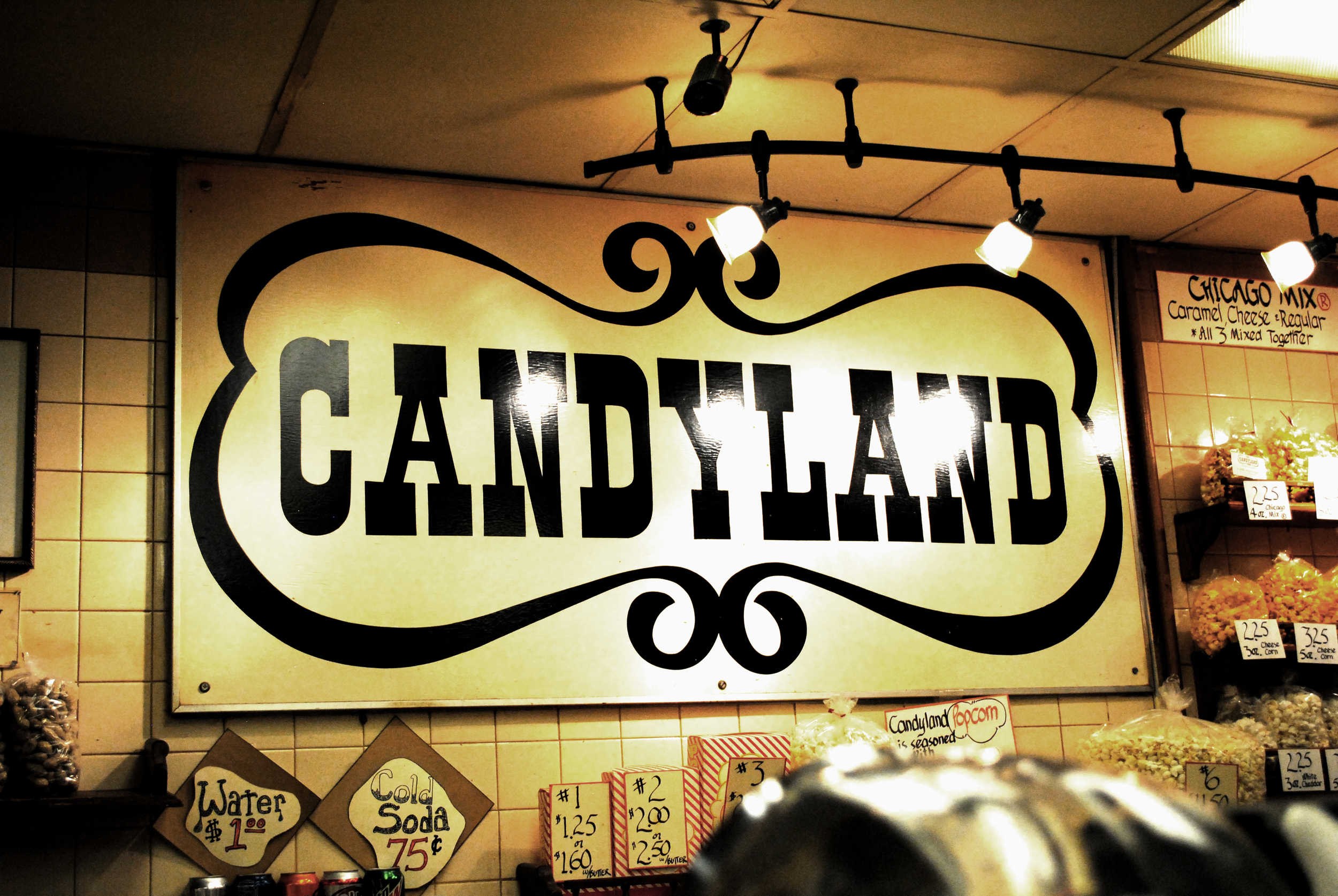 Candyland Sign from Downtown St. Paul.