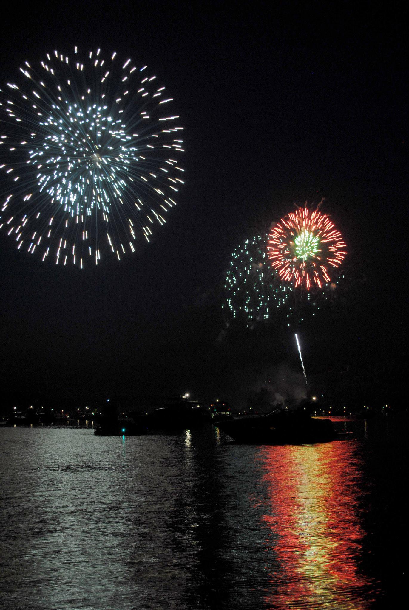 Stillwater Fourth of July Firework Show.
