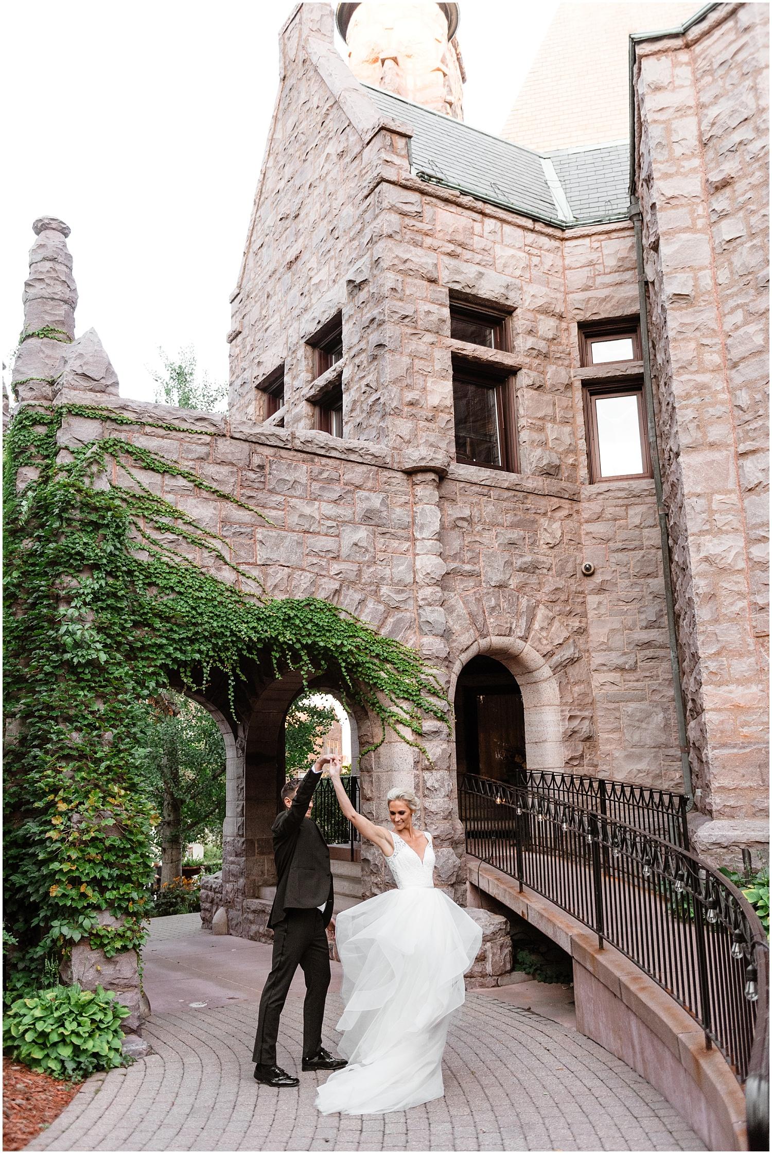 Van Dusen Mansion Wedding Photography