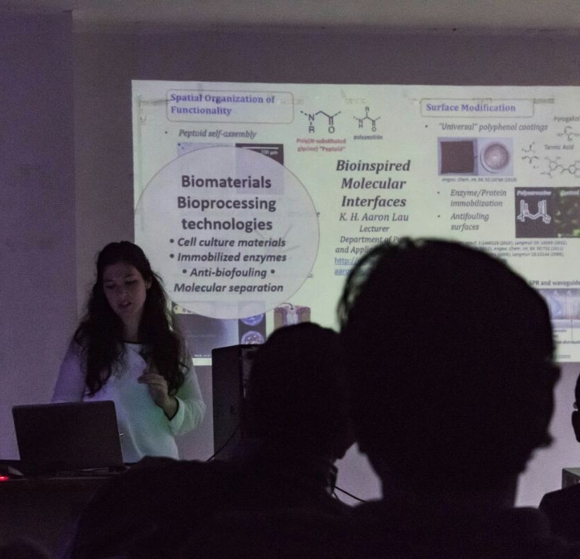 20171218: Ana gives invited talk at IIT Guwahati, India, hosted by our collaborator Prof Lalit Pandey and Prof Animes Golder