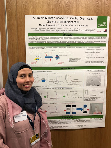 Marwa wins best poster prize at Strathwide 2018 conference