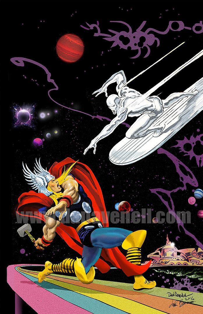 Thor vs Silver Surfer