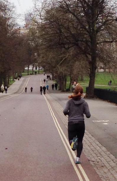 Best of luck to Julia Bunting - she's taking on the Paris Marathon on Sunday! Smash it Jules!