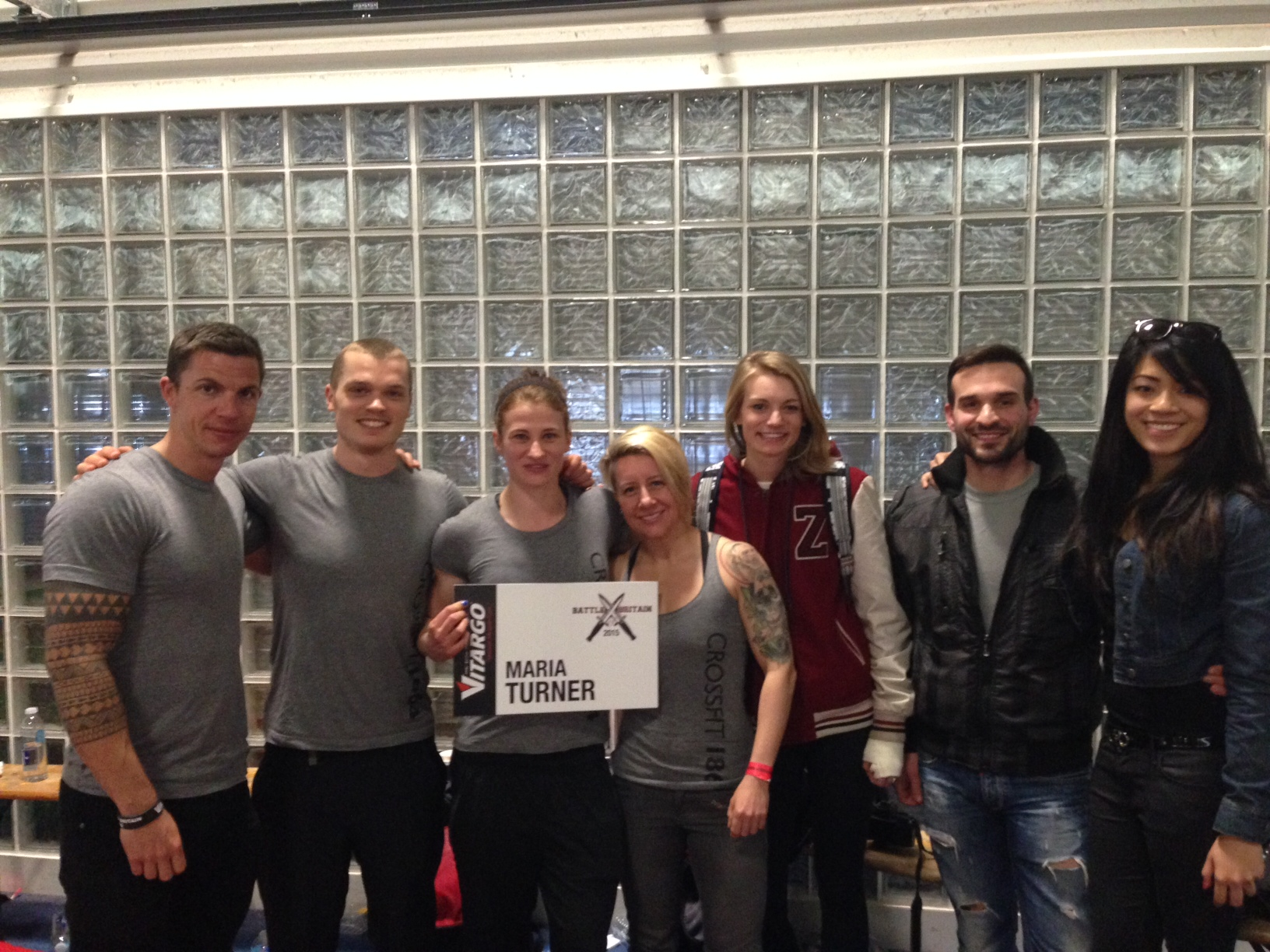Thanks to everyone who came to Birmingham to support Coach Maria at Battle of Britain!