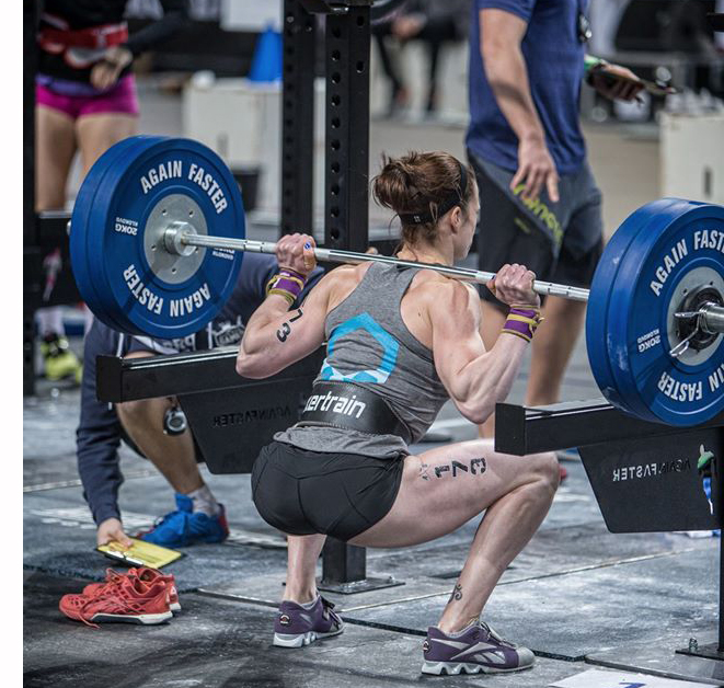 Just to be clear, I was not wearing my wrist straps to back squat... there was a strict press immediatelyafter this, I swear!