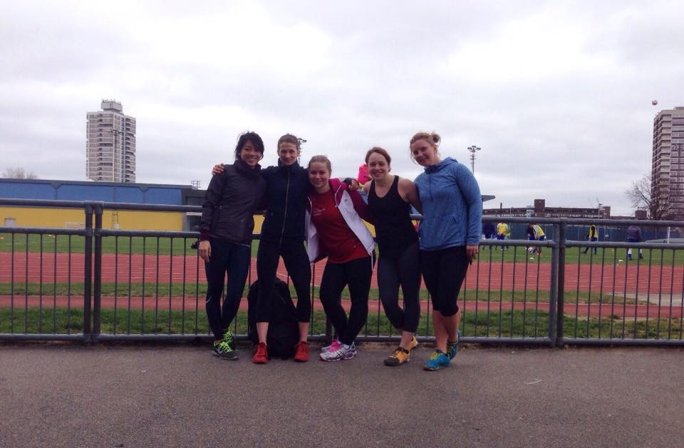 Come support the Ladies of CrossFit 1864 as we take on the Nike Women's 10k in Victoria Park this Sunday!
