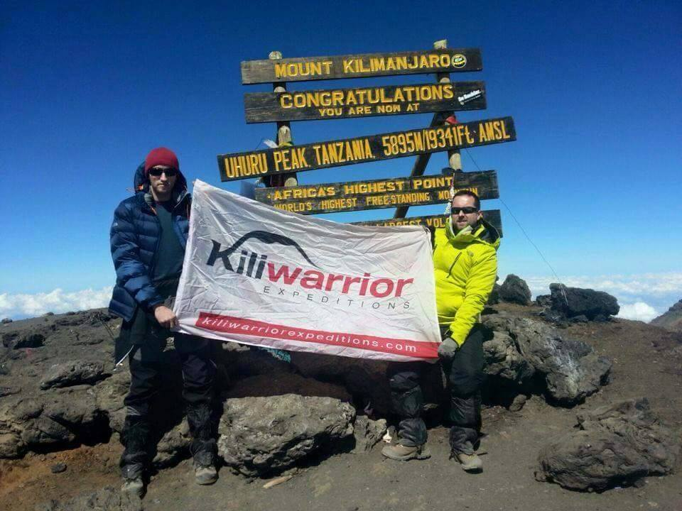 A massive congrats to our good buddy Dean who started off his 2016 by climbing Kilimanjaro!